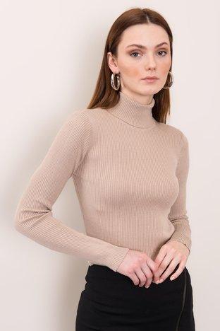 Jasnobeżowy sweter BSL