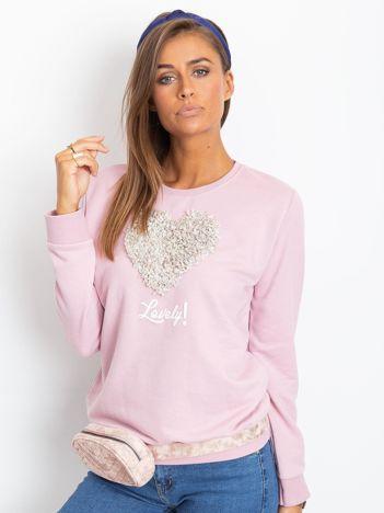 Jasnofioletowa bluza Hazel