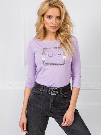 Jasnofioletowa bluzka Paris