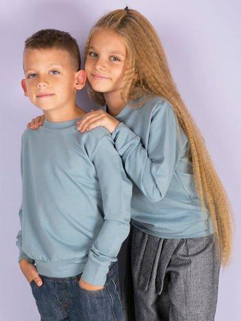 Jasnoniebieska bluza młodzieżowa