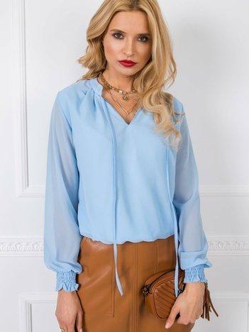 Jasnoniebieska bluzka Essie RUE PARIS