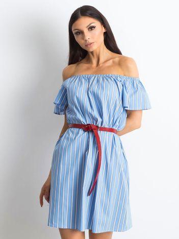 Jasnoniebieska sukienka Aventura