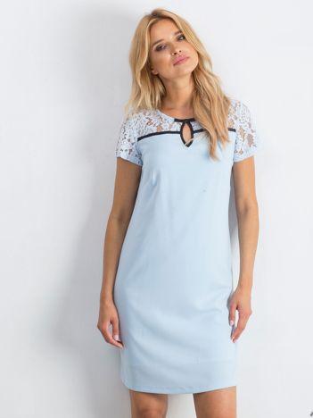 Jasnoniebieska sukienka Irresistible