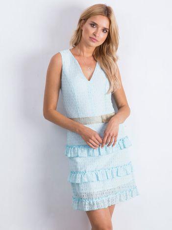 Jasnoniebieska sukienka Versatility