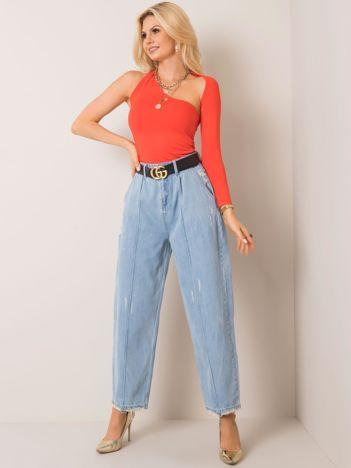 Jasnoniebieskie jeansy Agnes RUE PARIS