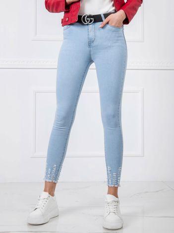 Jasnoniebieskie jeansy Moon