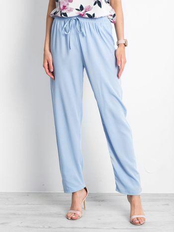 Jasnoniebieskie spodnie Inability
