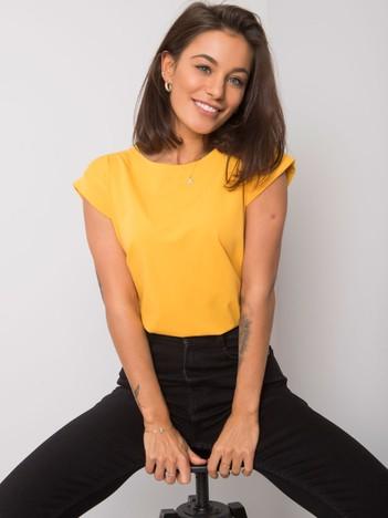 Jasnopomarańczowy t-shirt Revolution