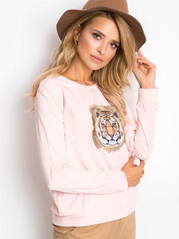 Jasnoróżowa bluza Palma