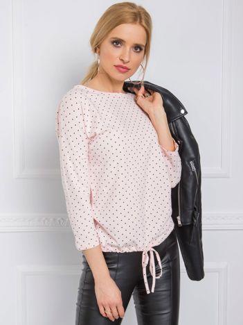 Jasnoróżowa bluzka Ginger RUE PARIS