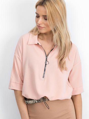 Jasnoróżowa bluzka Hokum