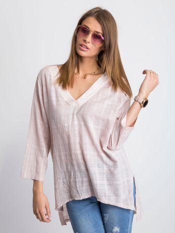 Jasnoróżowa bluzka Hollaback