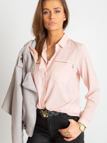 Jasnoróżowa koszula Layla