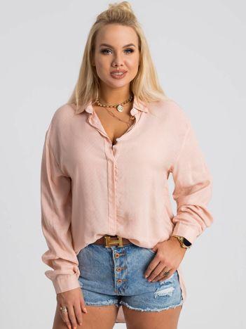 Jasnoróżowa koszula plus size Jane RUE PARIS