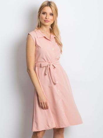 Jasnoróżowa sukienka Masterclass