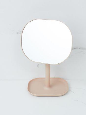 Jasnoróżowe lustro stołowe