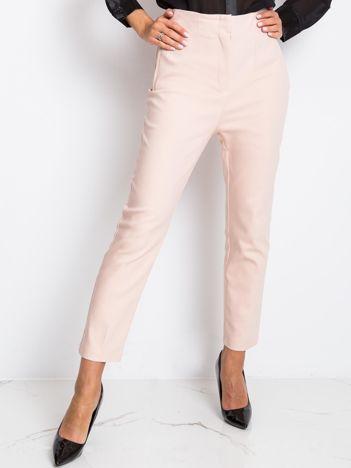 Jasnoróżowe spodnie Hyper