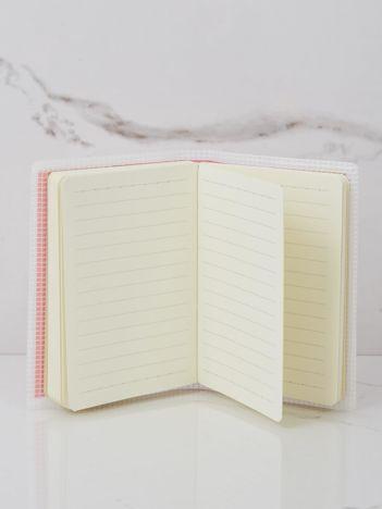 Jasnoróżowy notes