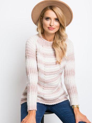 Jasnoróżowy sweter Emmah