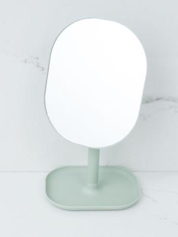 Jasnoszare lustro stołowe