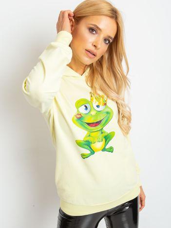 Jasnożółta bluza Froggy