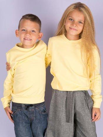 Jasnożółta bluza młodzieżowa