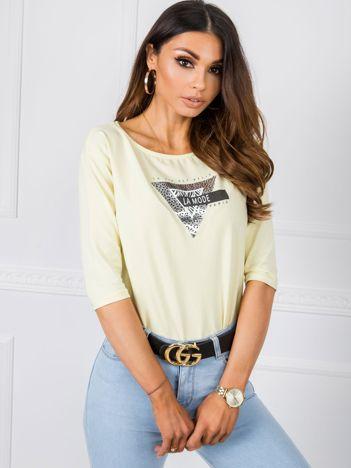 Jasnożółta bluzka Lilian