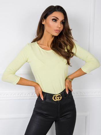 Jasnożółta bluzka Mona