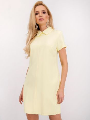 Jasnożółta sukienka Havana