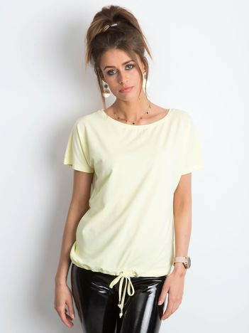 Jasnożółty t-shirt Curiosity