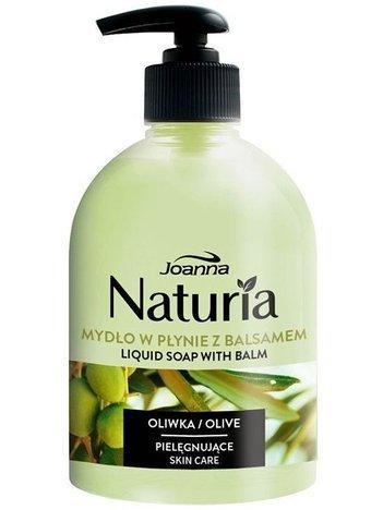Joanna NATURIA Mydło w płynie z balsamem Oliwka 500 ml