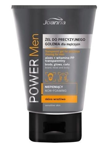 Joanna POWER MEN Żel do precyzyjnego golenia dla mężczyzn niepieniący 150 g