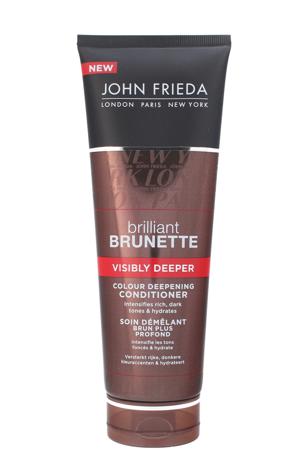"""John Frieda Brilliant Brunette Odżywka do włosów ciemnych  Visibly Deeper 250ml"""""""