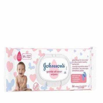 Johnson's Baby Gentle All Over Chusteczki nawilżane dla dzieci 56 szt.