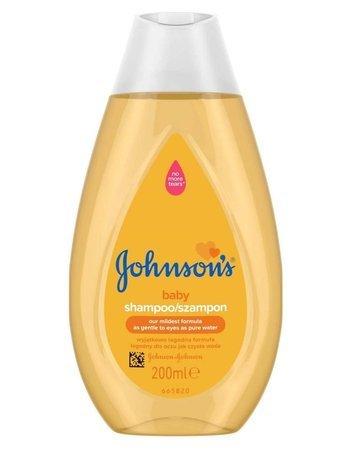 Johnson's Baby Gold Szampon dla dzieci 200 ml