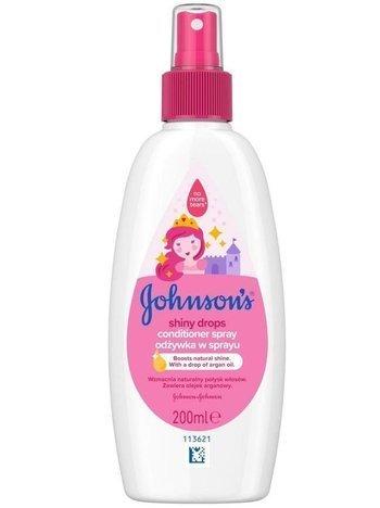 Johnson's Baby Odżywka nabłyszczająca w spray'u do włosów dla dzieci 200 ml