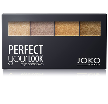 Joko Cienie quattro Perfect Your Look nr 402 perłowe 7g