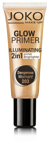 Joko Emulsja rozświetlająca 2w1 Glow Primer nr 203 dangerous woman! 25ml