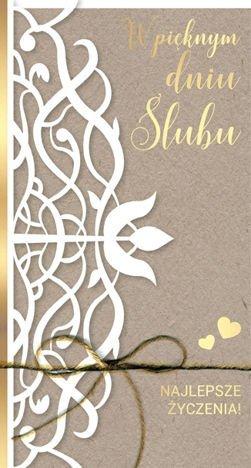 KUKARTKA Kartka W pięknym dniu Ślubu. Wyjątkowa i niepowtarzalna kartka z kolekcji Passion Moments
