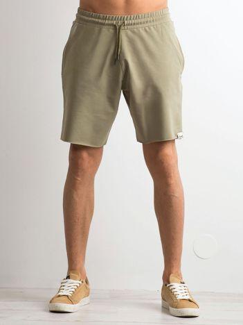 Khaki spodenki męskie