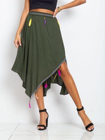 Khaki spódnica Amazon