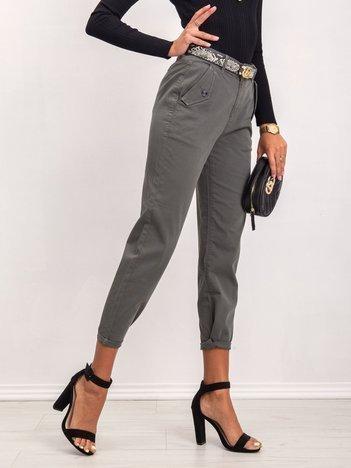 Khaki spodnie Adriana
