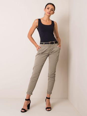 Khaki spodnie Crush
