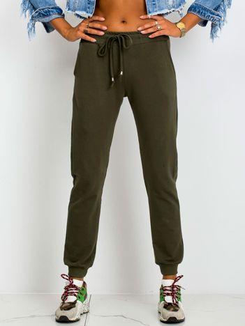 Khaki spodnie Faster
