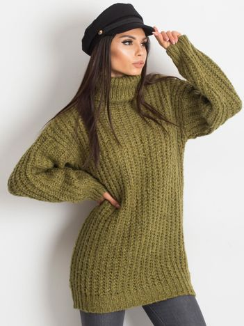 Khaki sweter Dakota