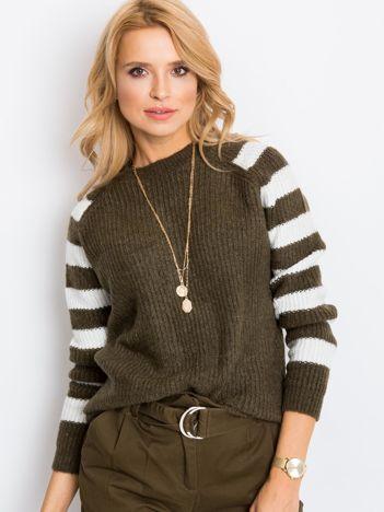 Khaki sweter Independent