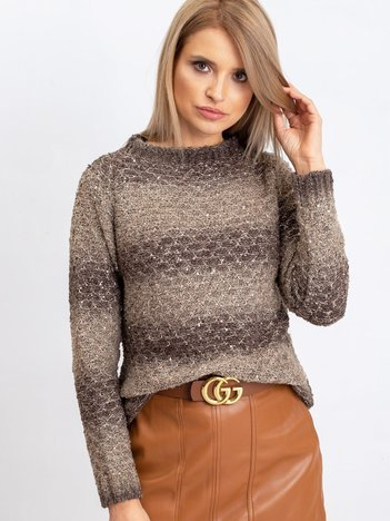 Khaki sweter Loop