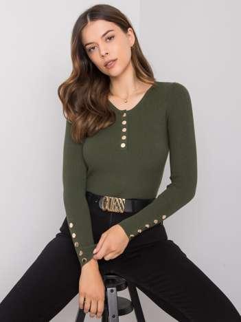 Khaki sweter Martiria