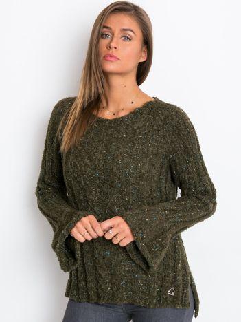 Khaki sweter Trust