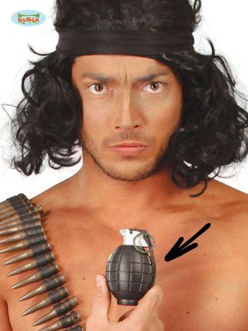 Khaki sztuczny granat odłamkowy z dźwiękiem